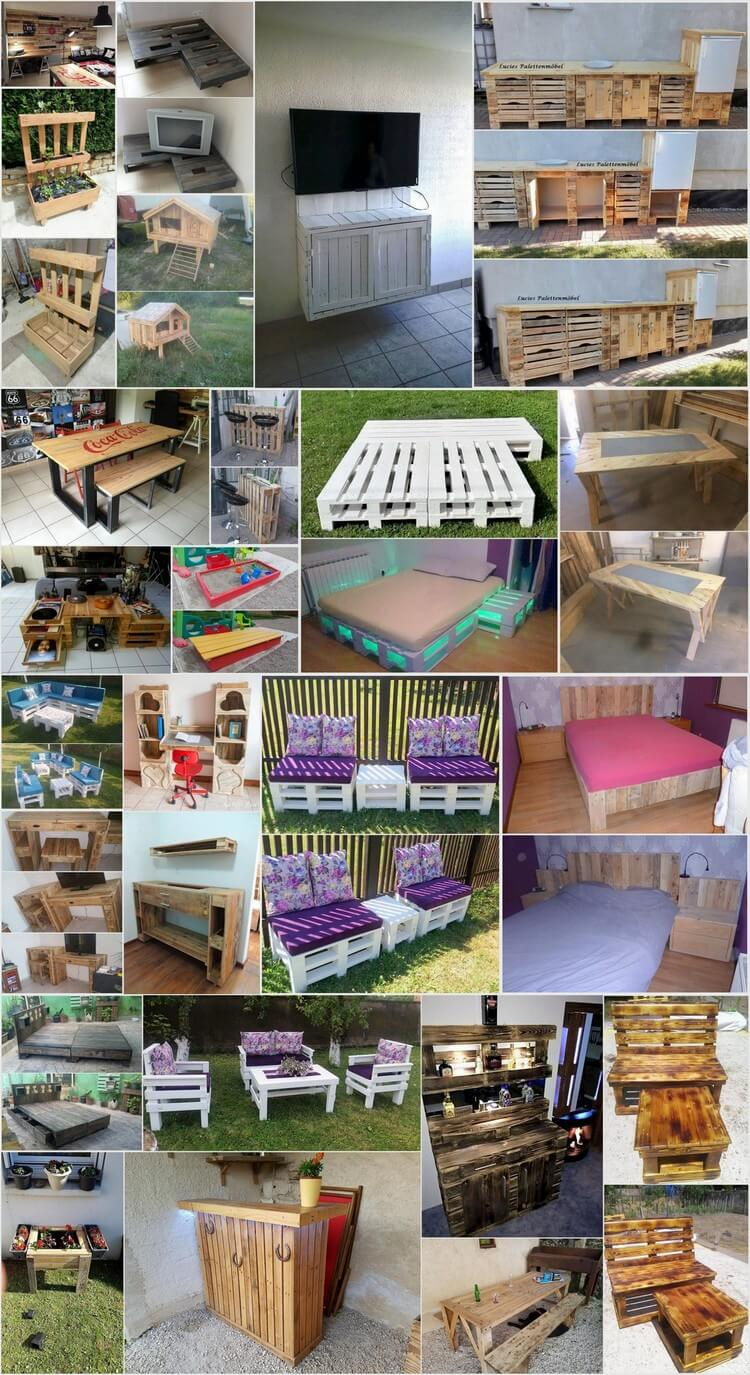 recycled pallet projects