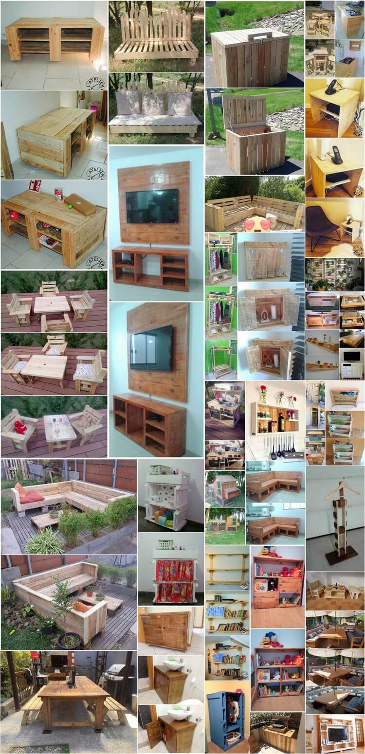 35 Unique Ways to Recycle Old Wooden Pallets