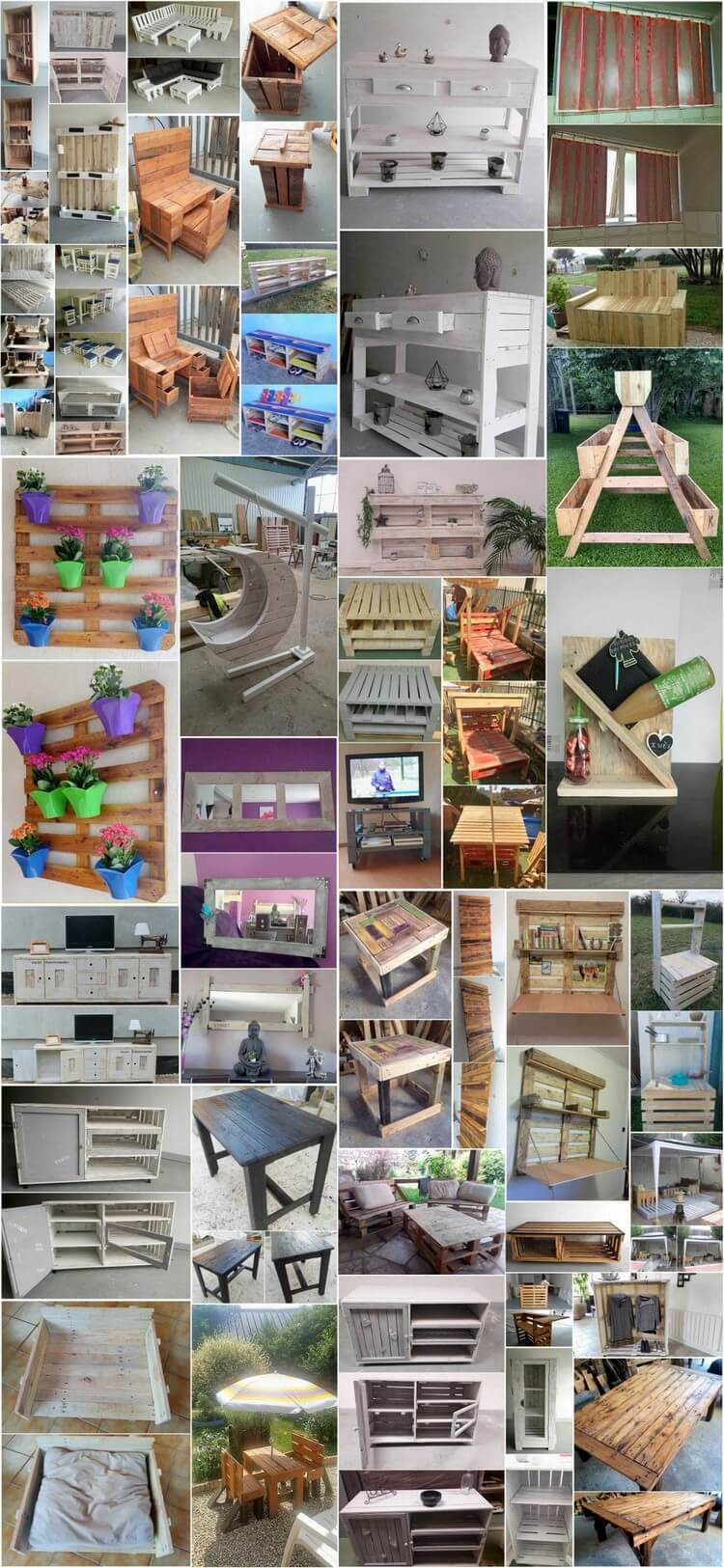 40 Easiest Ways of Recycling Used Shipping Pallets