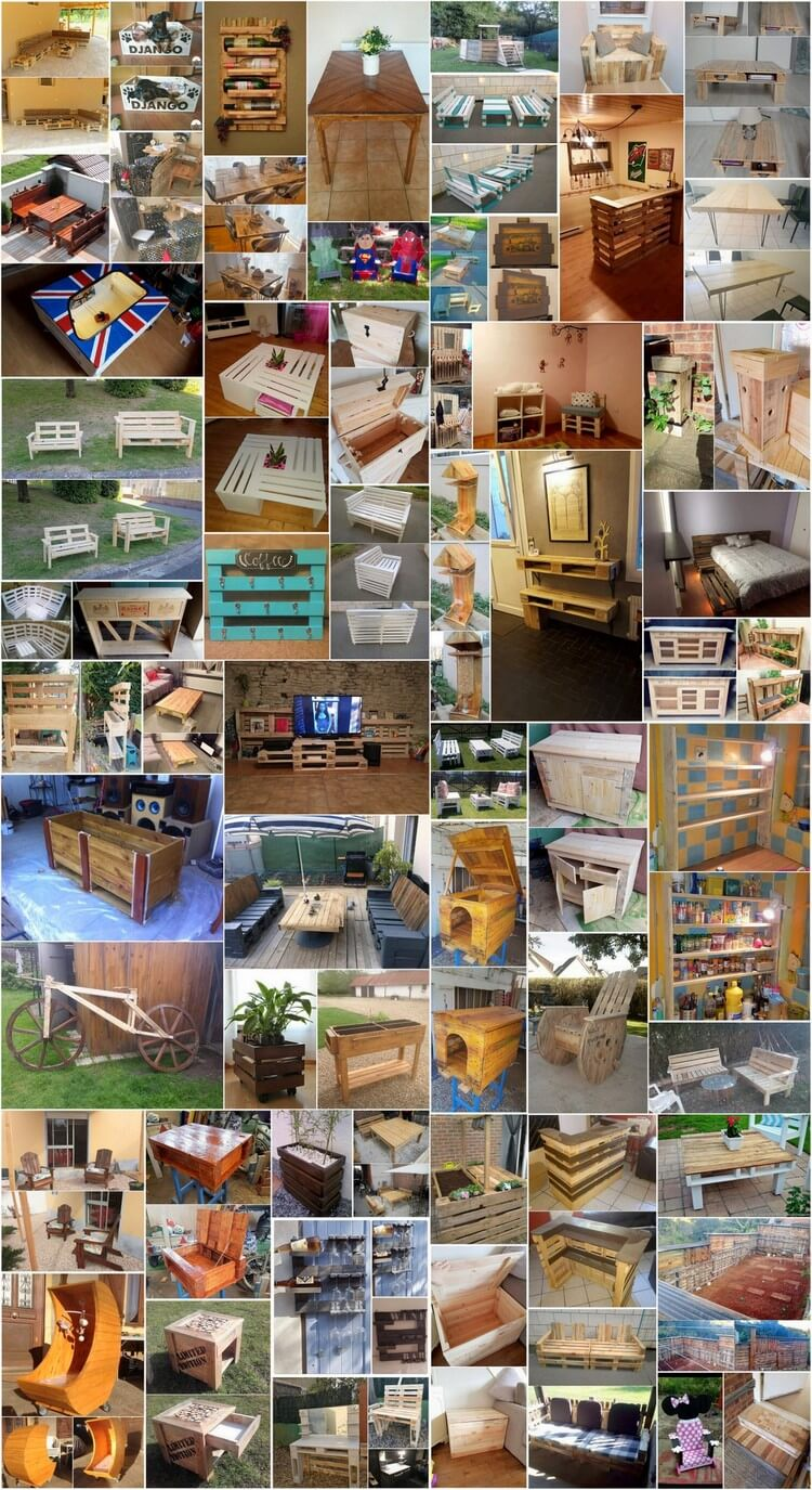 60+ Awesome DIY Pallet Ideas to Tryout This Year