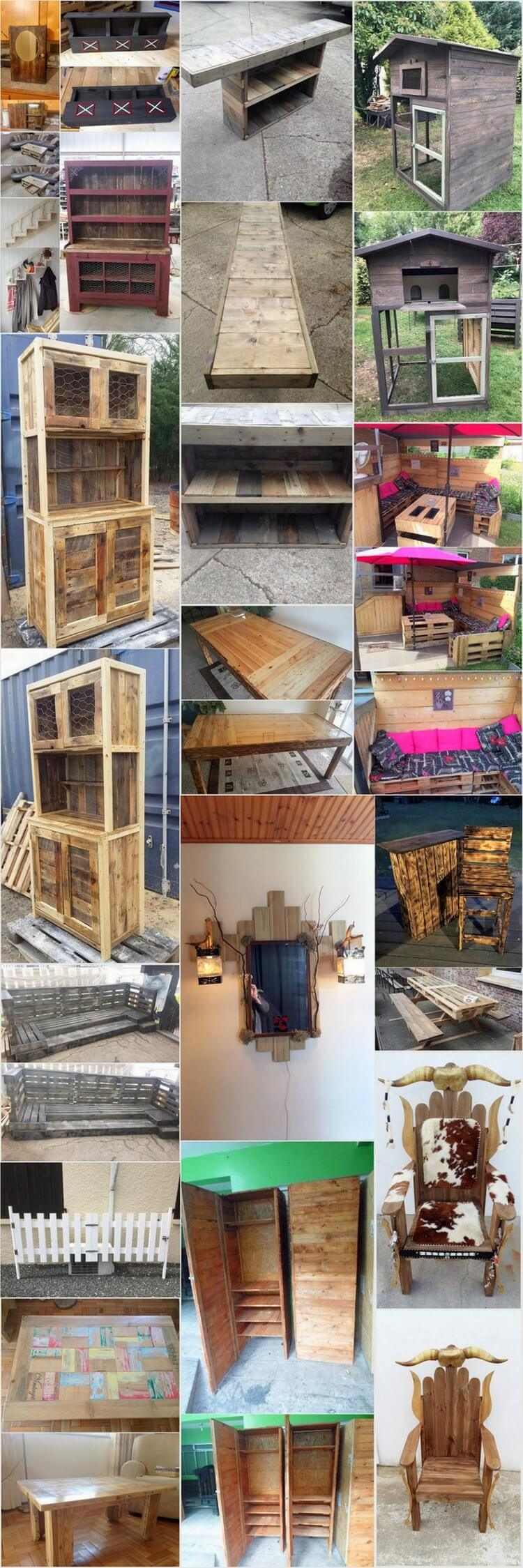 Amazing Creations with Recycled Wood Pallets