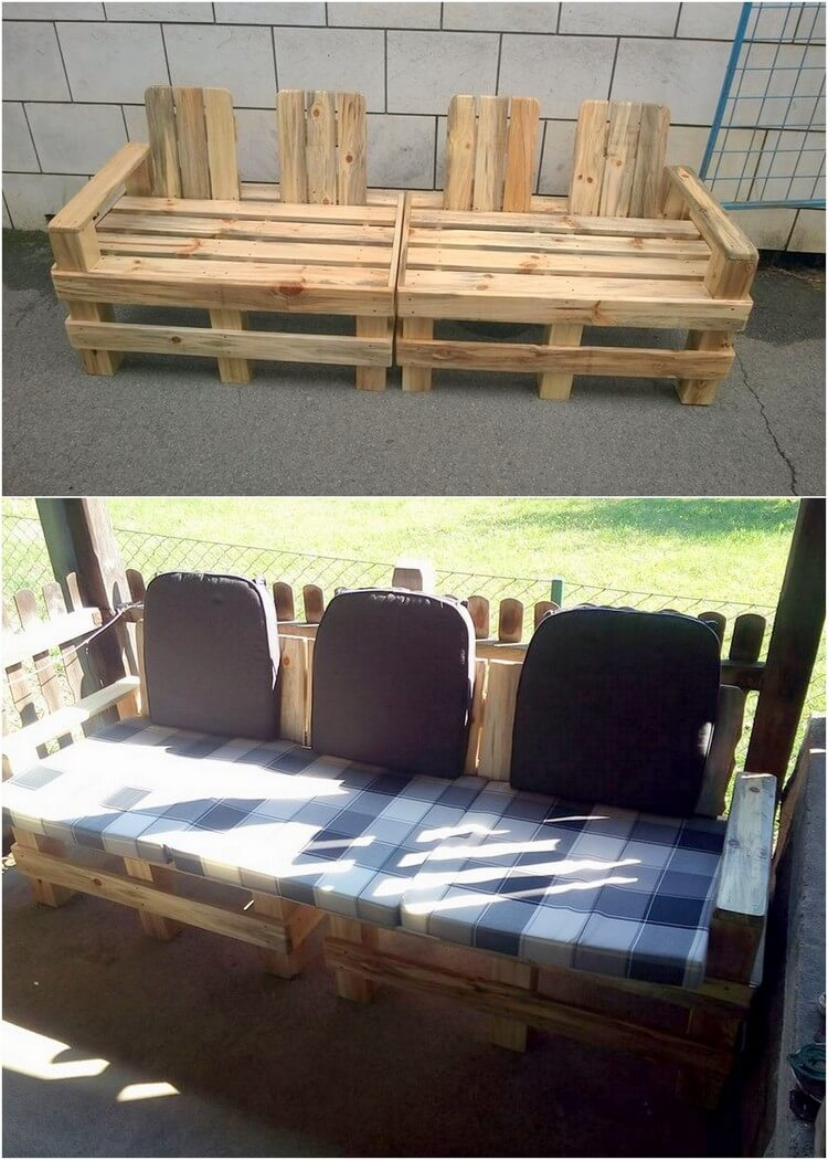 Big Pallet Couch