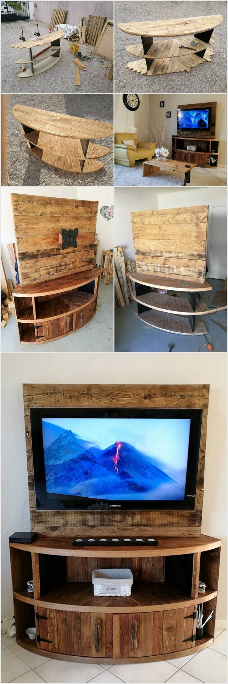 diy pallet entertainment center diy wood pallet entertainment center tv stand pallet 678