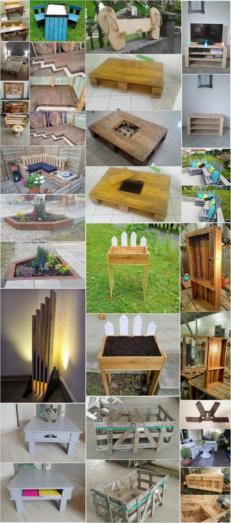 Exciting Ways to Reuse Old Shipping Pallets