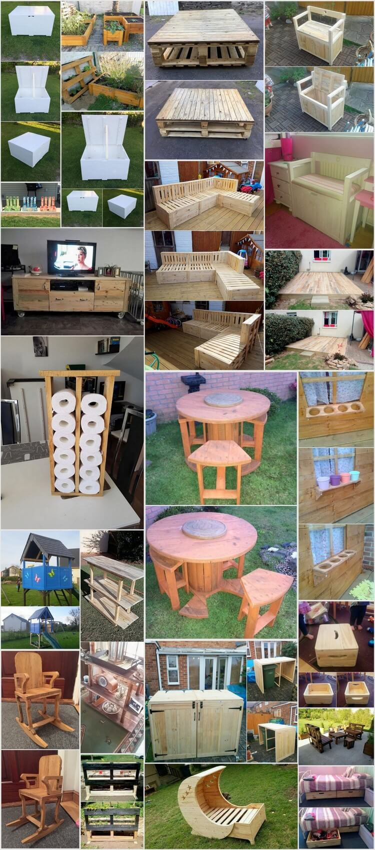 Great Imaginations for Recycling Shipping Wood Pallets