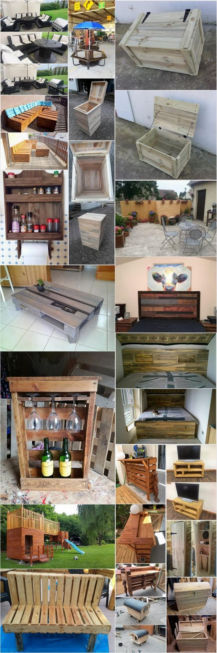 Ingenious DIY Ideas to Repurpose Old Wood Pallets