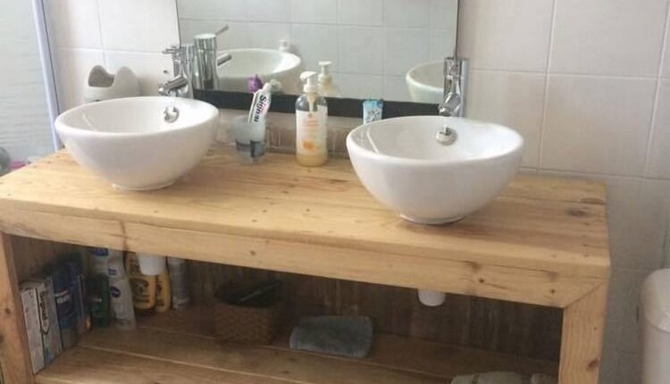 Pallet Bathroom Furniture