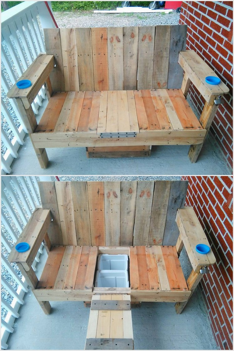 20 creative ideas to reuse old wooden pallets pallet for What to make out of those old wood pallets