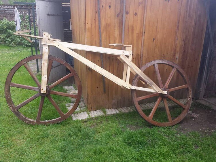 Pallet Bicycle