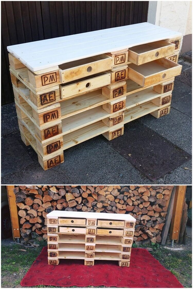 Awesome 107 Great Used Pallet Projects And Ideas