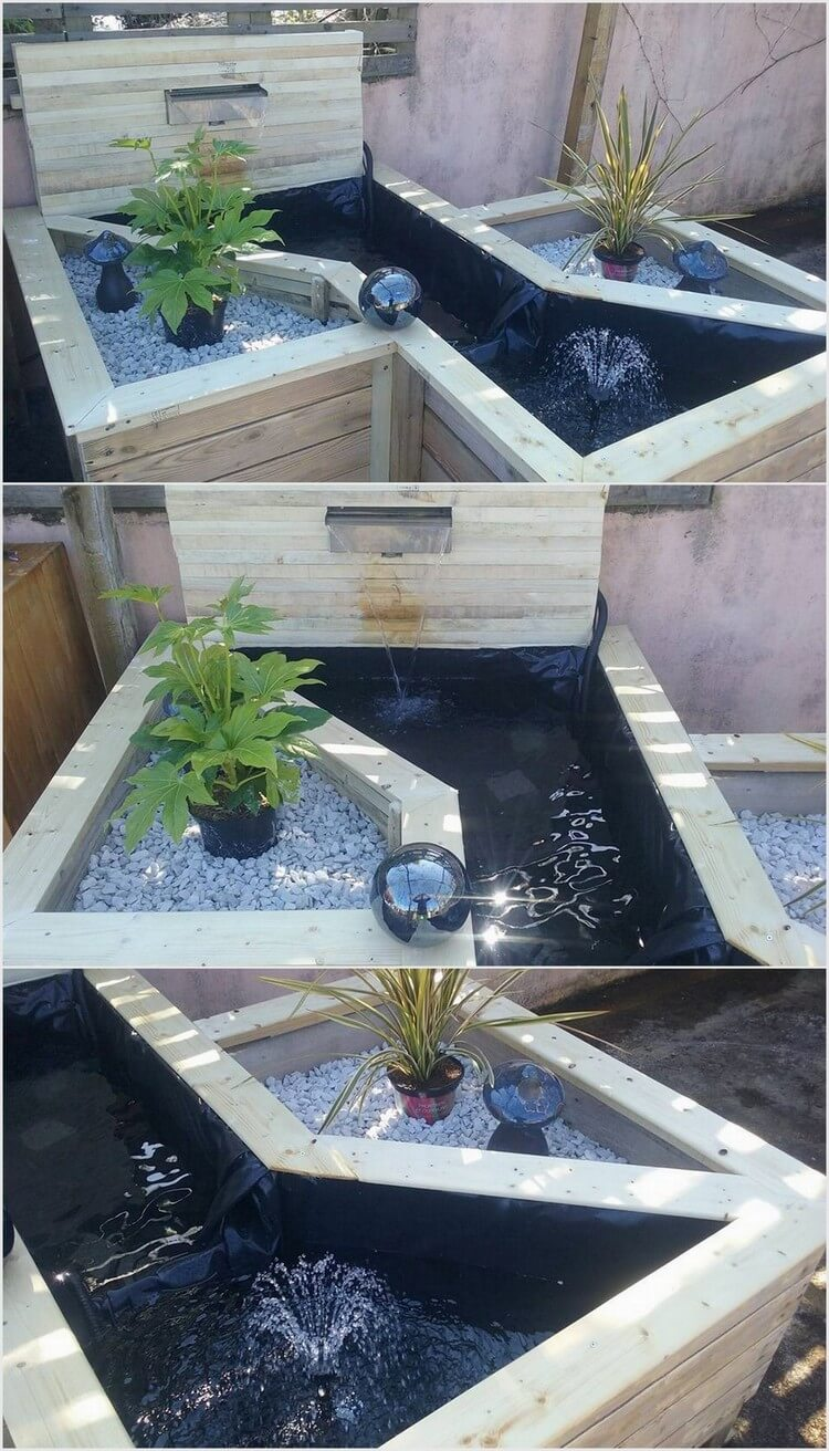 Pallet Creation for Garden