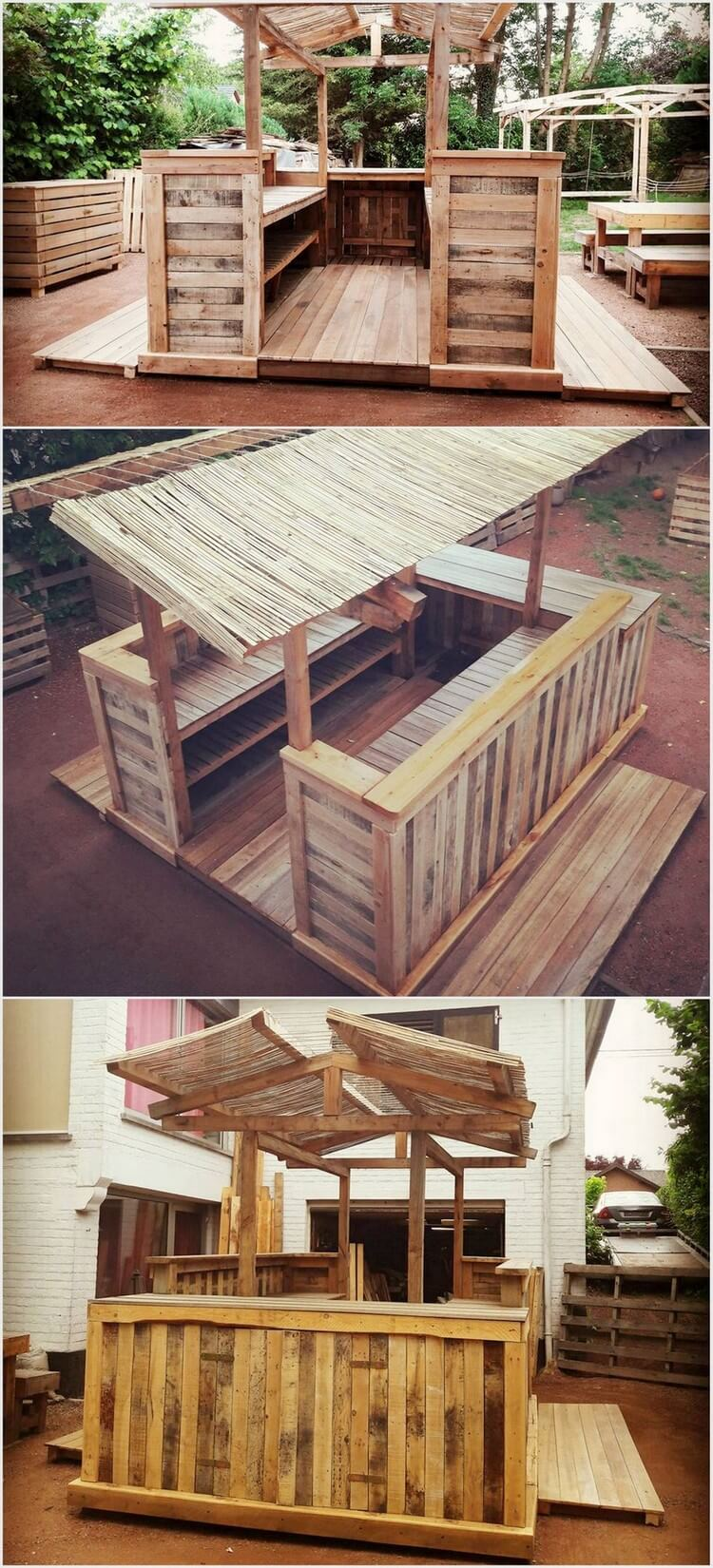 Awesome ideas for wooden pallet repurposing pallet wood for How do you spell pallets