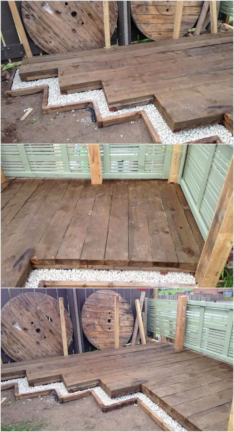 Pallet Creation for Outdoor