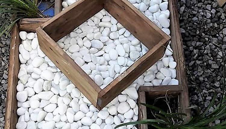 Pallet Decorative Planter