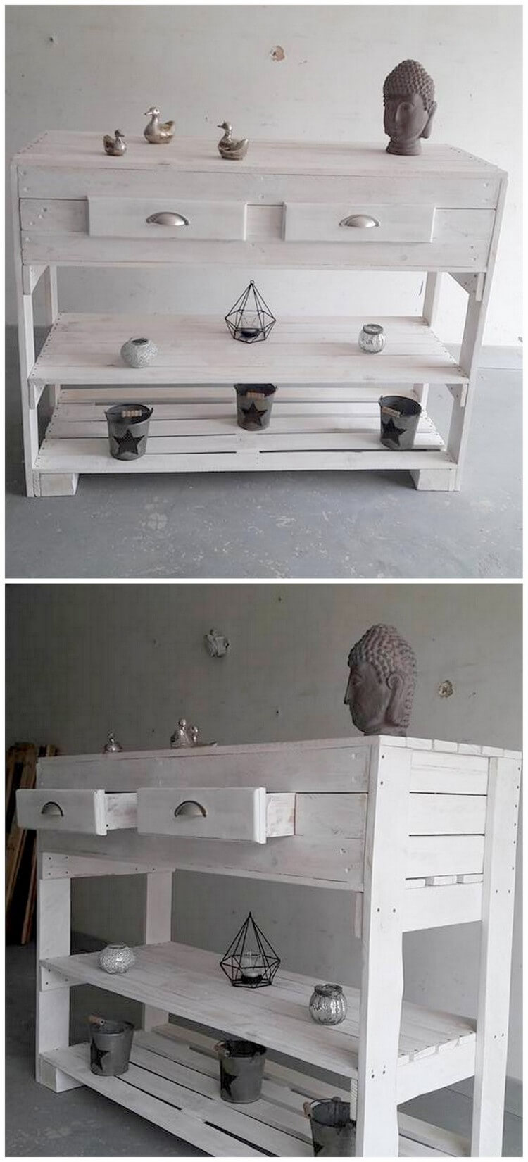 Pallet Entryway Table