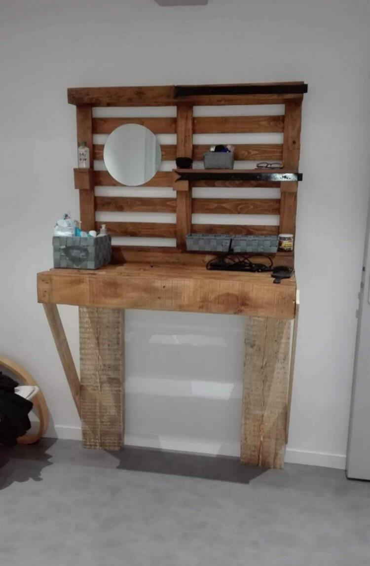 Pallet Folding Desk