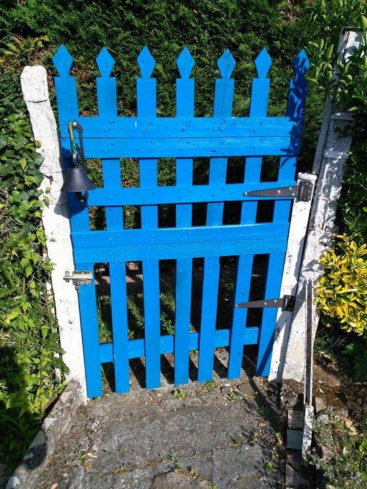 Pallet Garden Entrance Door