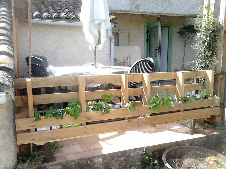 Pallet Large Strawberry Planter