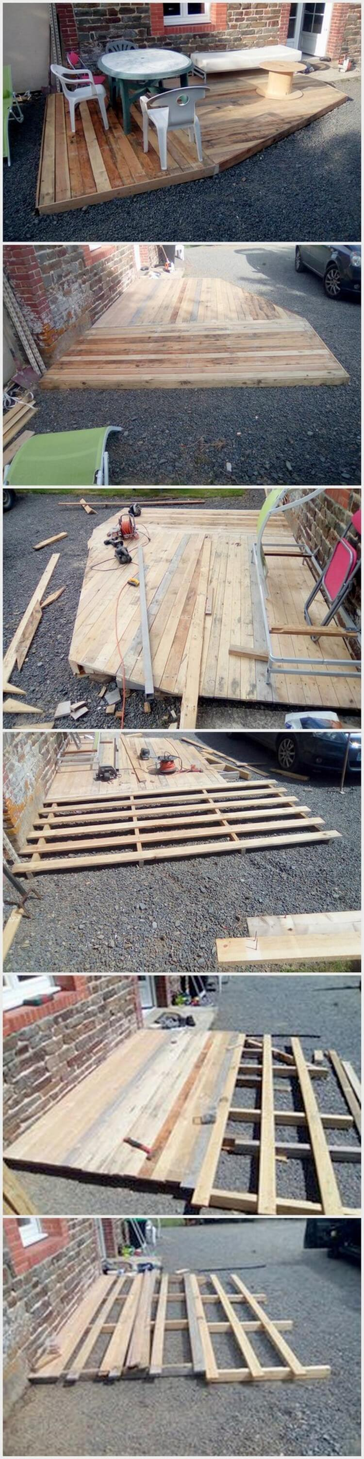 Pallet Outdoor Deck (2)