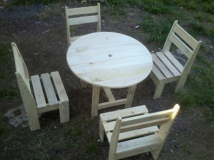Tryout these awesome wooden pallet recycling ideas pallet wood projects - Fabriquer table palette ...