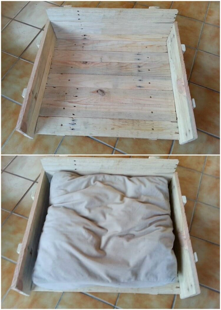 Pallet Seat or Pet Bed