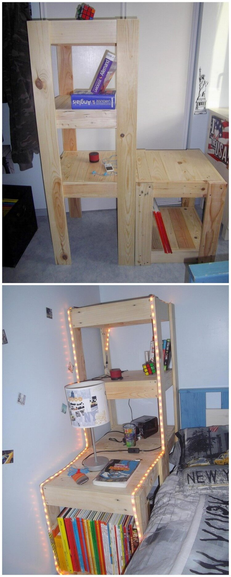 Creative diy pallet ideas to try out this weekend pallet for Creative pallet