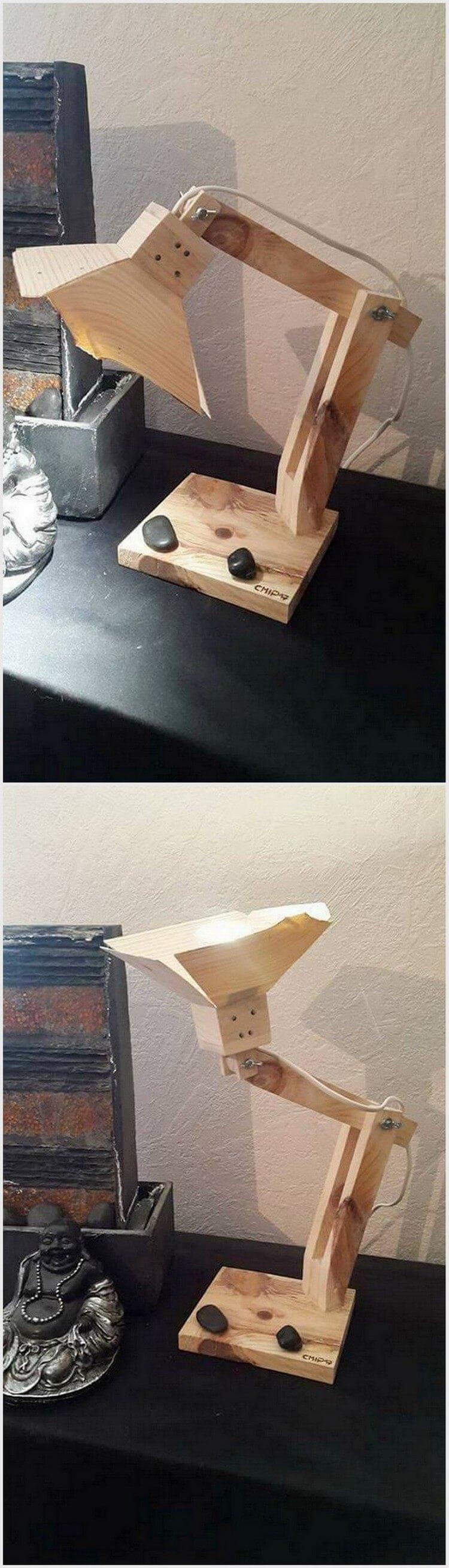 Pallet Study Lamp