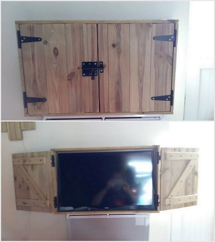 Pallet TV Cabinet