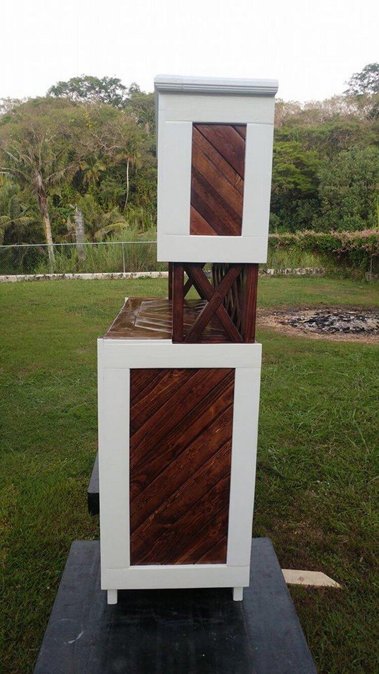 Pallet Wooden Hutch