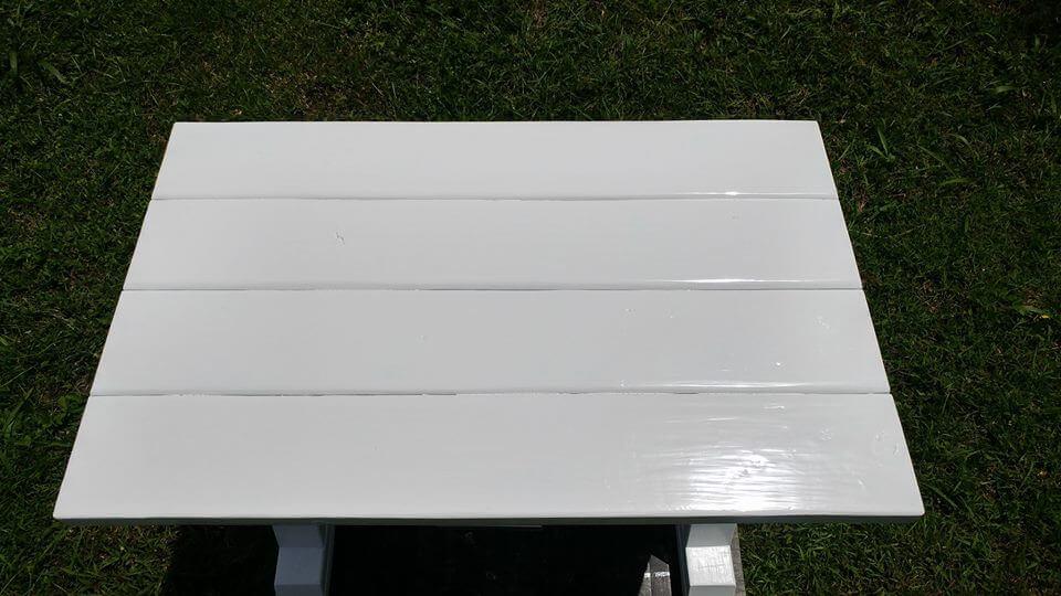 Pallet Wooden Pallet Mini Desk with Drawer