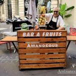 Pallets Made Fruit Bar