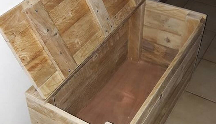 Pallets Wooden Toy Box
