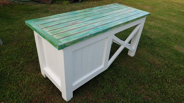 Recycled Pallet Desk