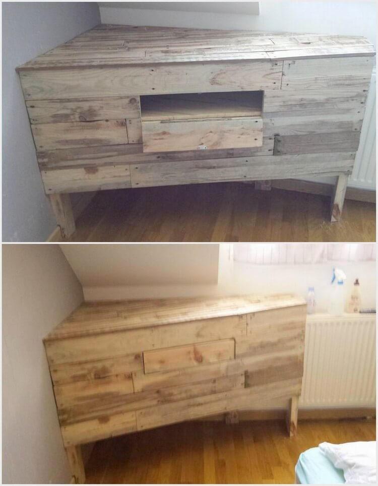 Recycled Wood Pallet Creation