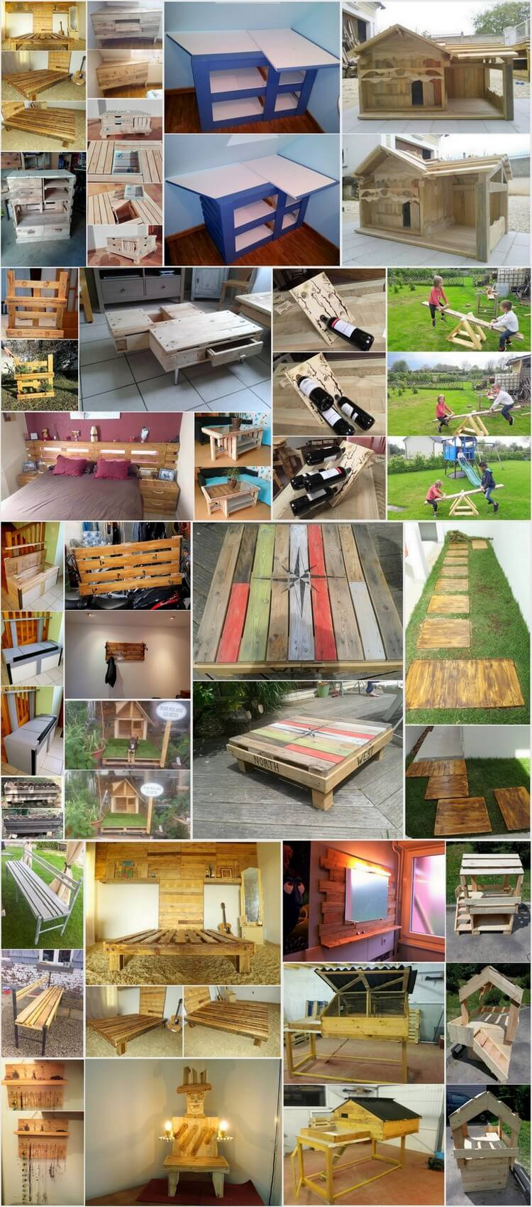Repurposing Ideas for Old Wooden Pallets
