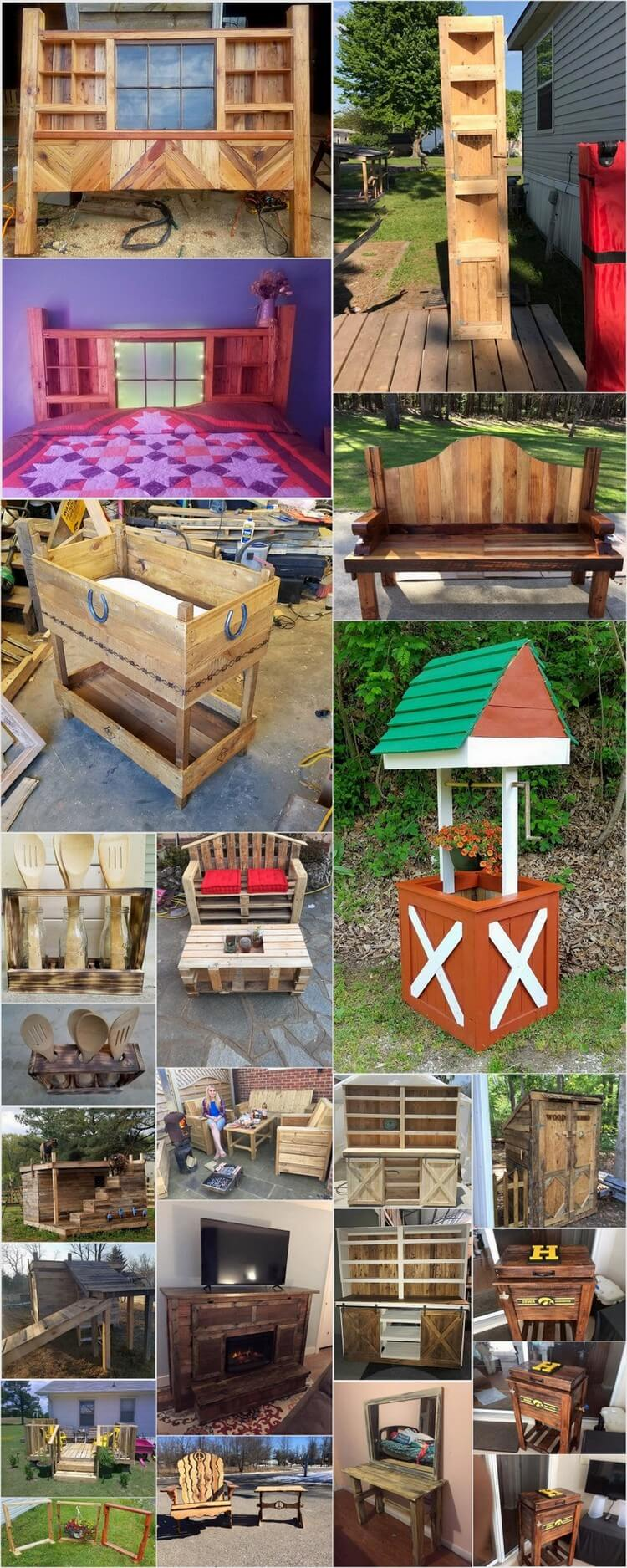 Reshaping Ideas for Old Wooden Pallets