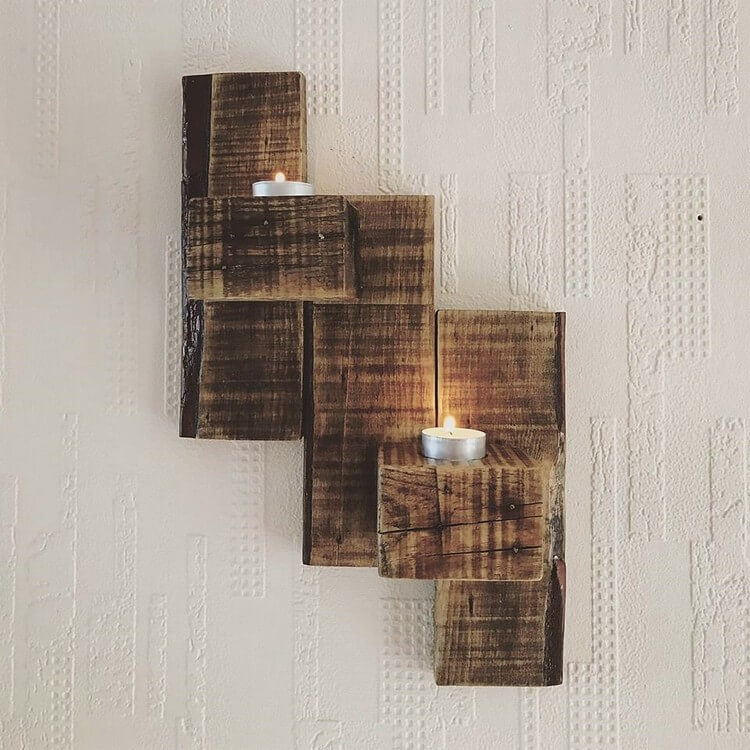 Rustic Wooden Pallet Wall Decor