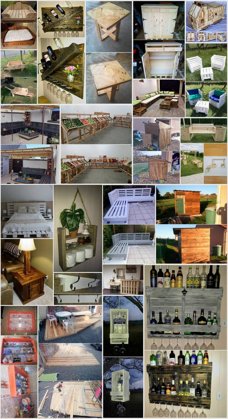 Some Interesting DIY Ideas with Wood Pallets