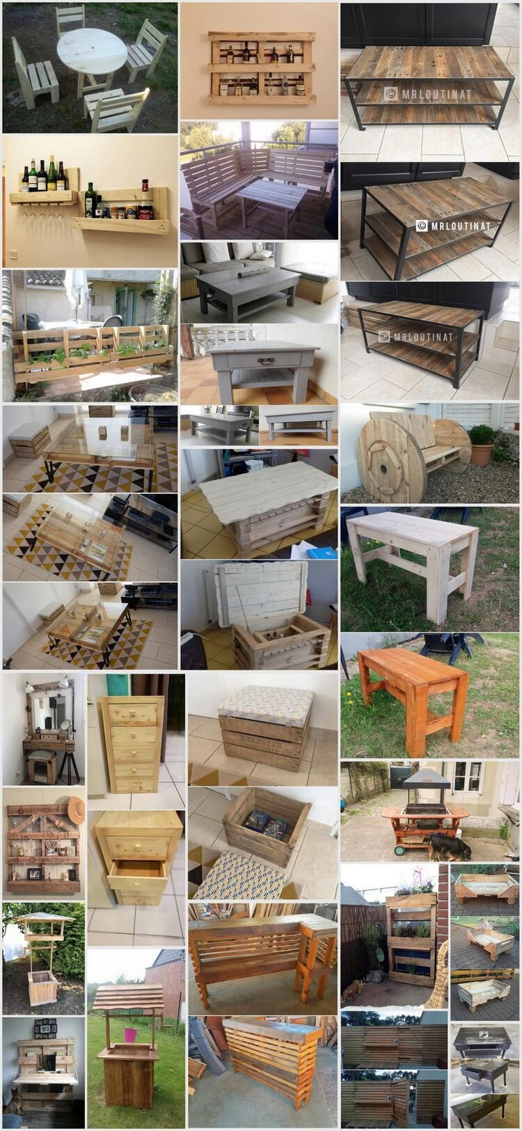 Tryout These Awesome Wooden Pallet Recycling Ideas