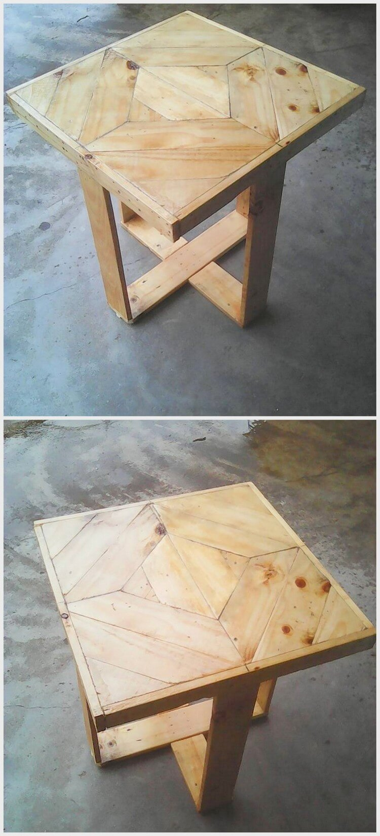 Unique Wooden Pallet Table