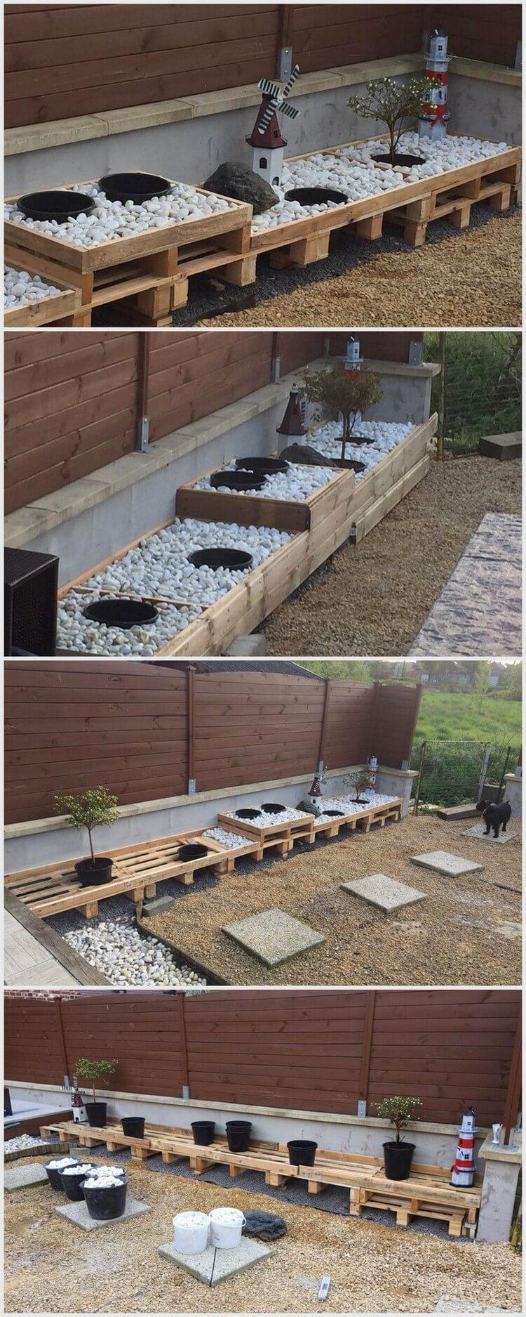 Wood Pallet Garden Project