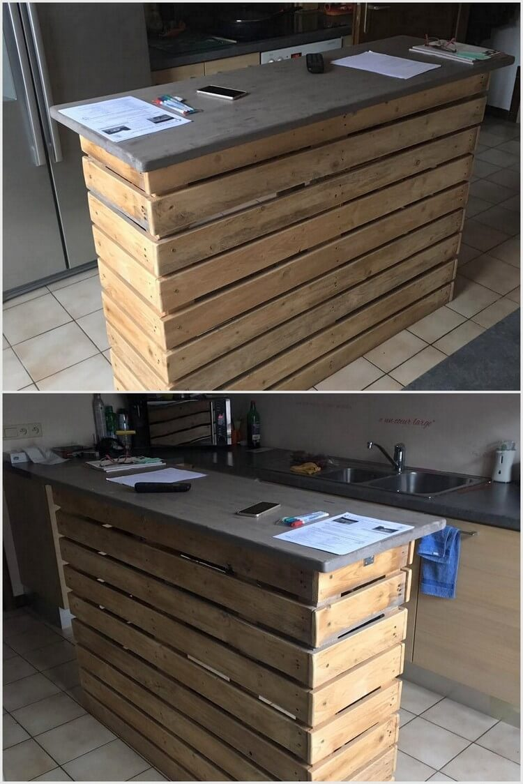 Wooden Kitchen Projects ~ Easy wooden pallet ideas for this summer wood