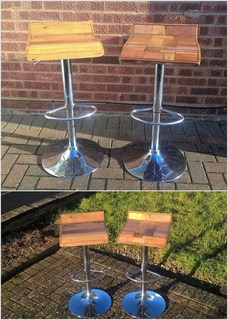 Wood Pallet Unique Chairs