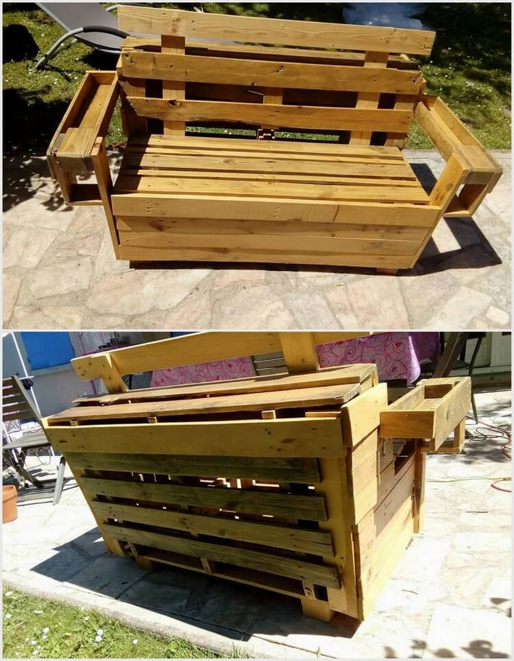 80 Easy Wooden Pallet Ideas for This Summer | Pallet Wood ...