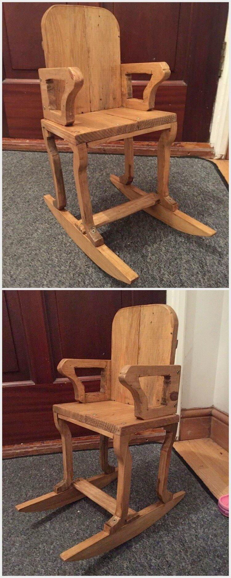 Wooden Pallet Chair
