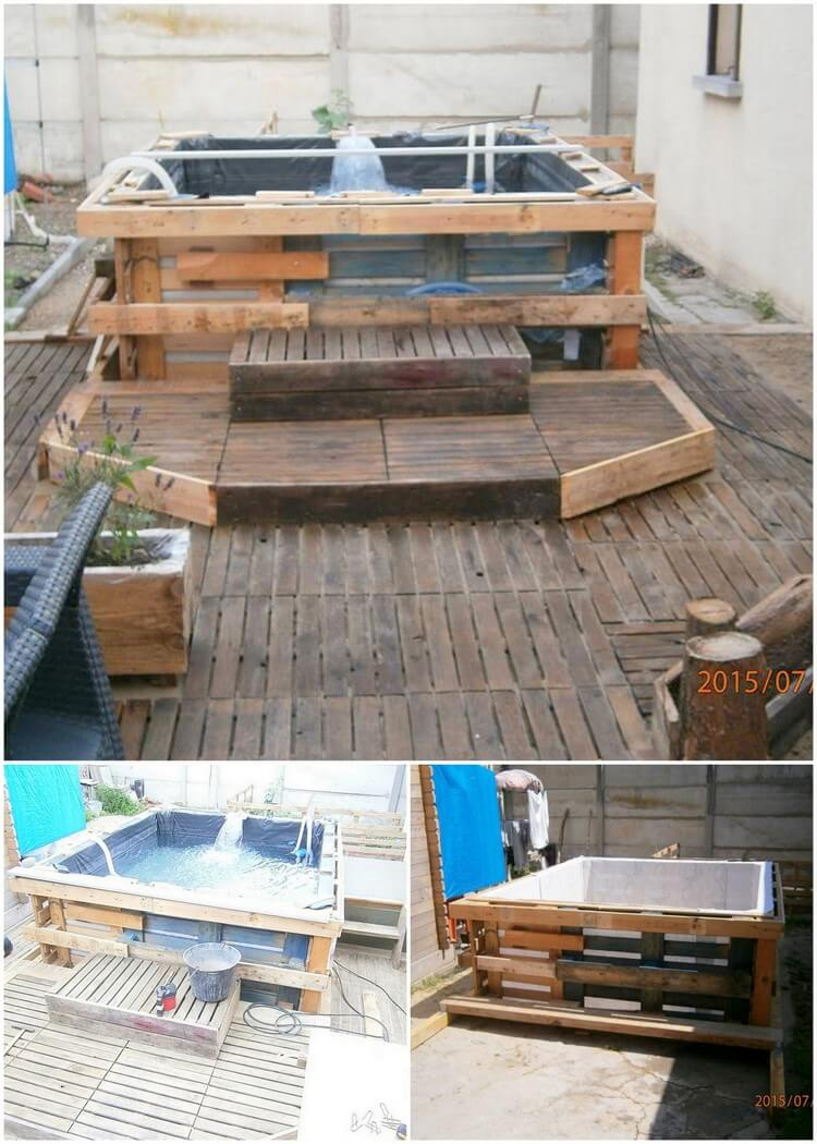 Creative reusing ideas for old wooden pallets pallet for Creative pallet