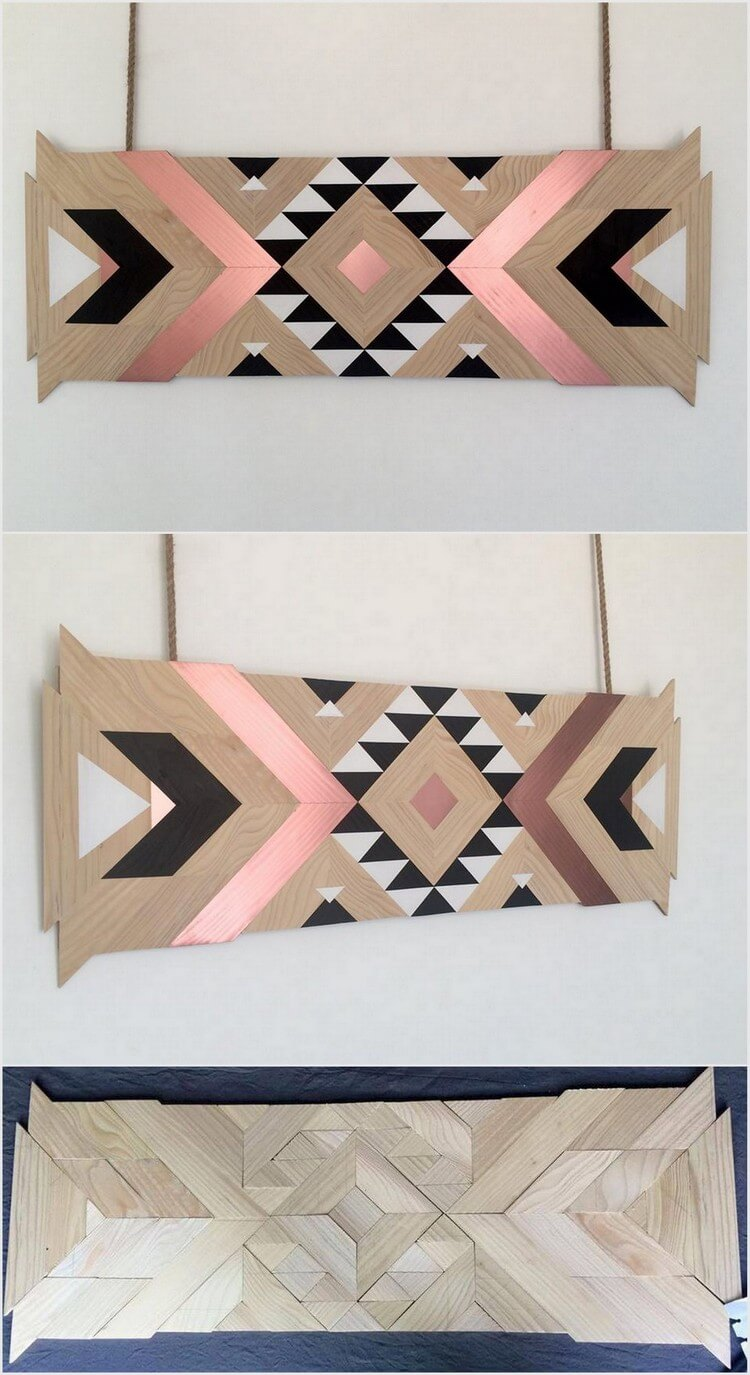 Wooden Pallet Wall Decor