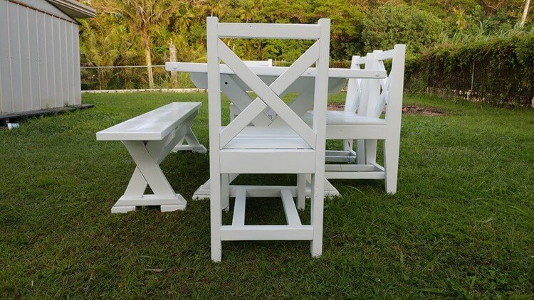 Wooden Pallets Dining Furniture