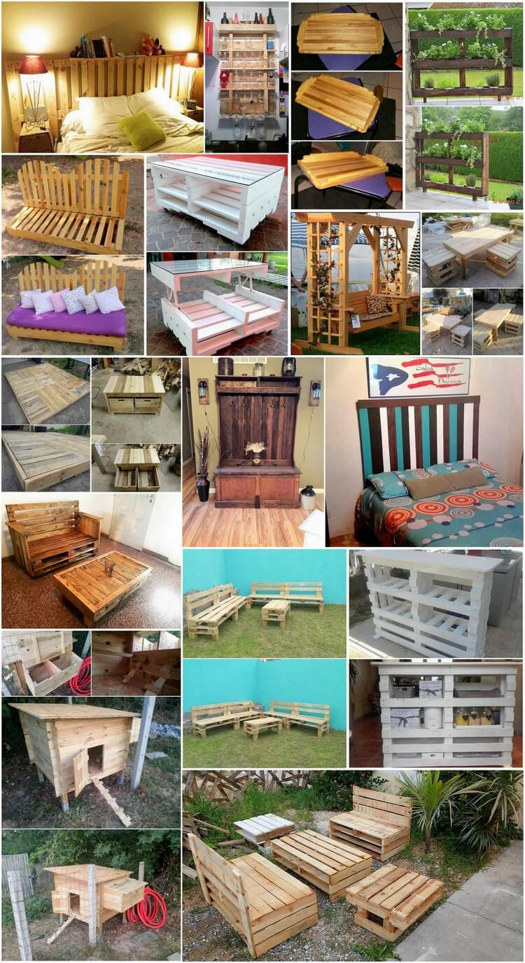 Amazing Creations with Reused Wooden Pallets