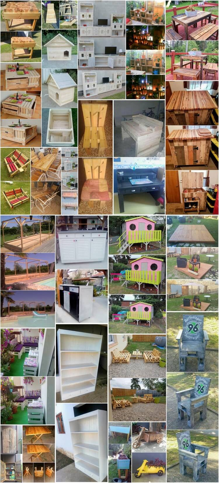 Amazing Ideas with Old Shipping Wood Pallets